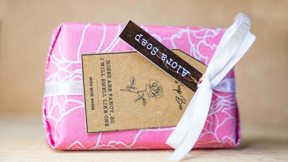 Rose Glycerine Soap bar