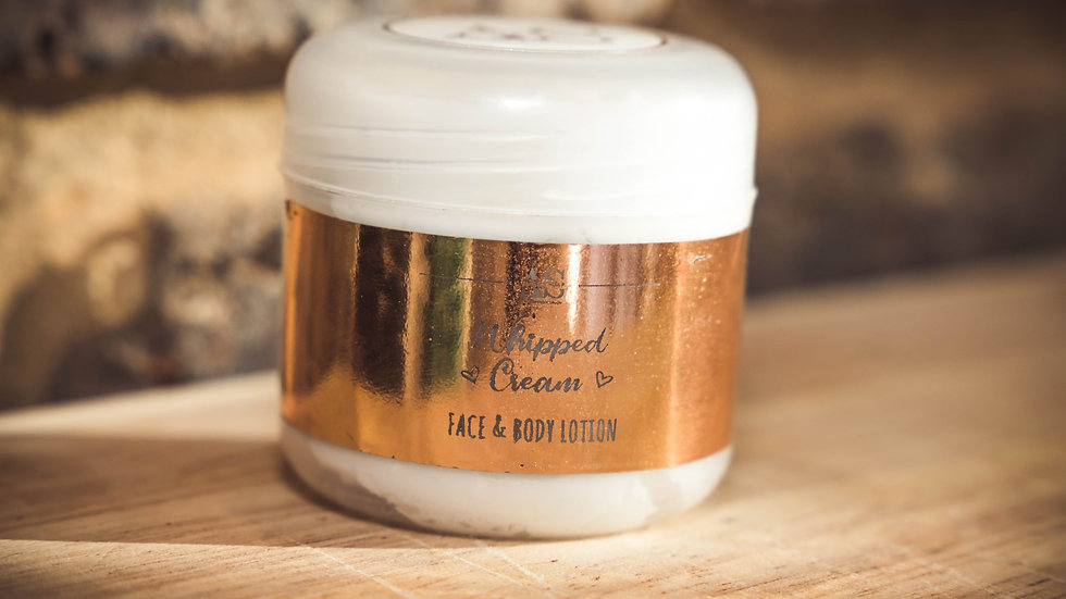Whipped Cream Face & body Lotion (unfragranced) - 50ml