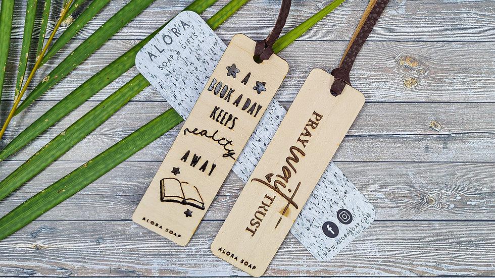 Basswood Bookmarks