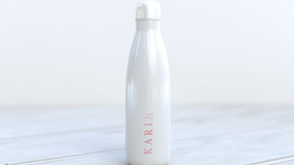 600ml Aluminium bottle Sophisticated