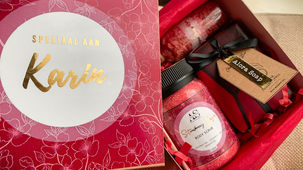 Gift Boxes - Cherry (LARGE OR SMALL)
