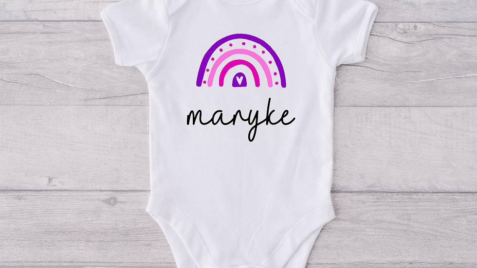Rainbow Newborn Baby Vest