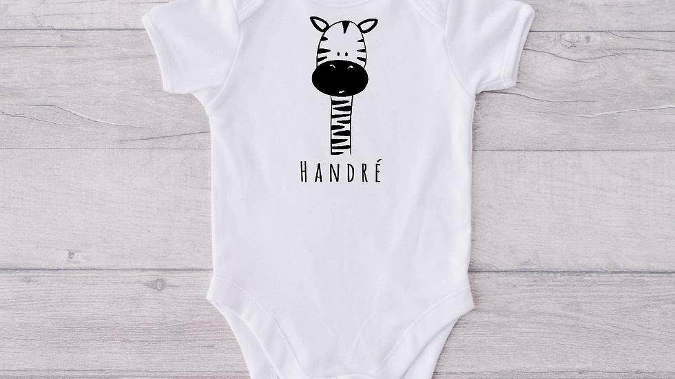 Giraffe Newborn Baby Vest