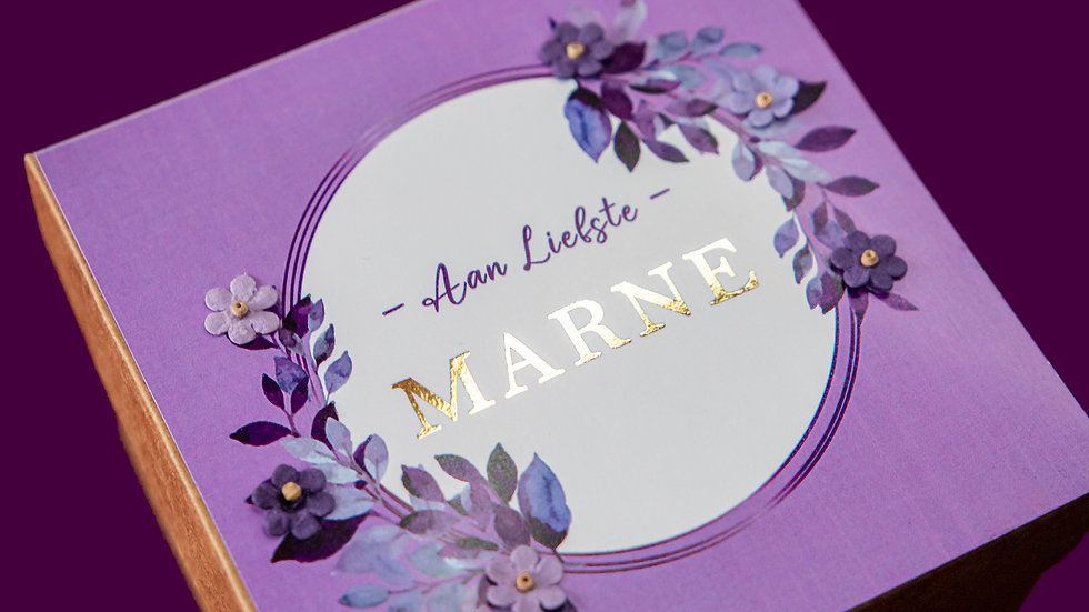 Gift Boxes - Lilac Purple (LARGE OR SMALL)