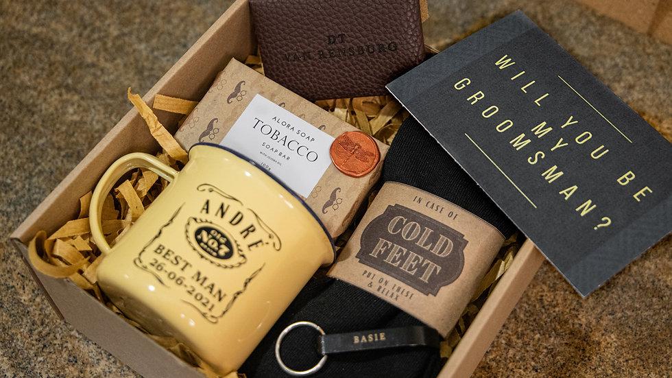 Medium Pre-packed gift box men