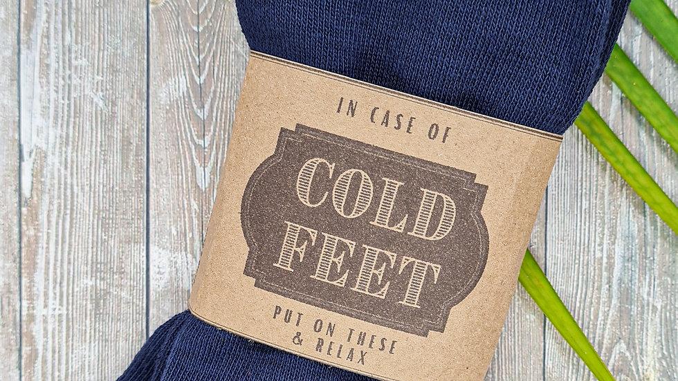 Men Socks - Cold Feet