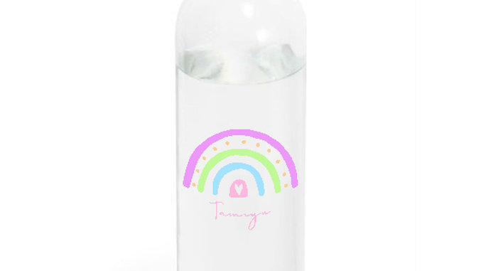 Plastic Water bottle 580ml Rainbow