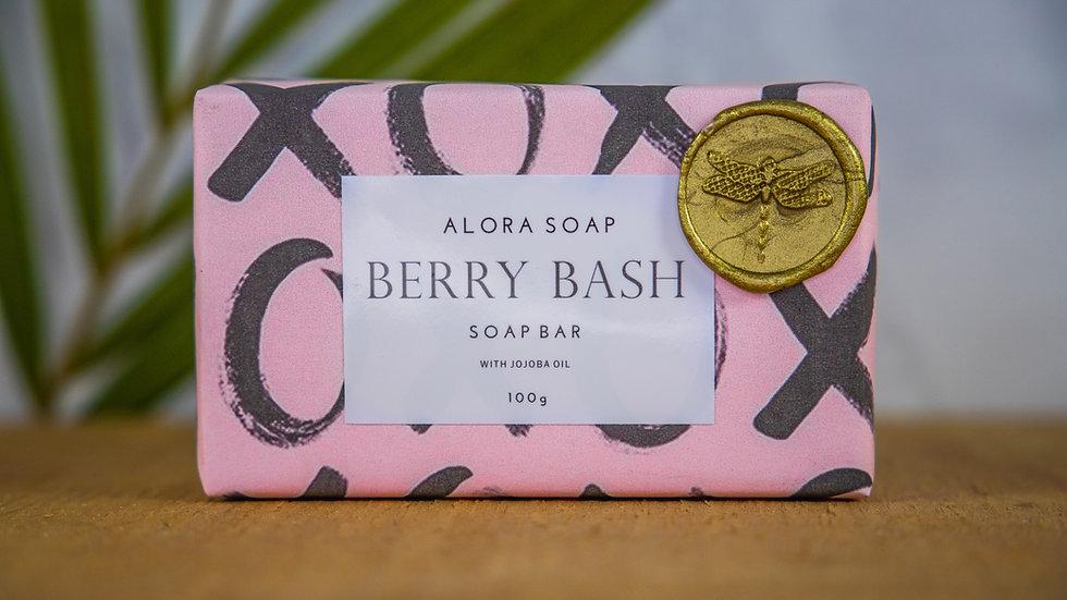 Berry Bash Glycerine Soap bar 100g