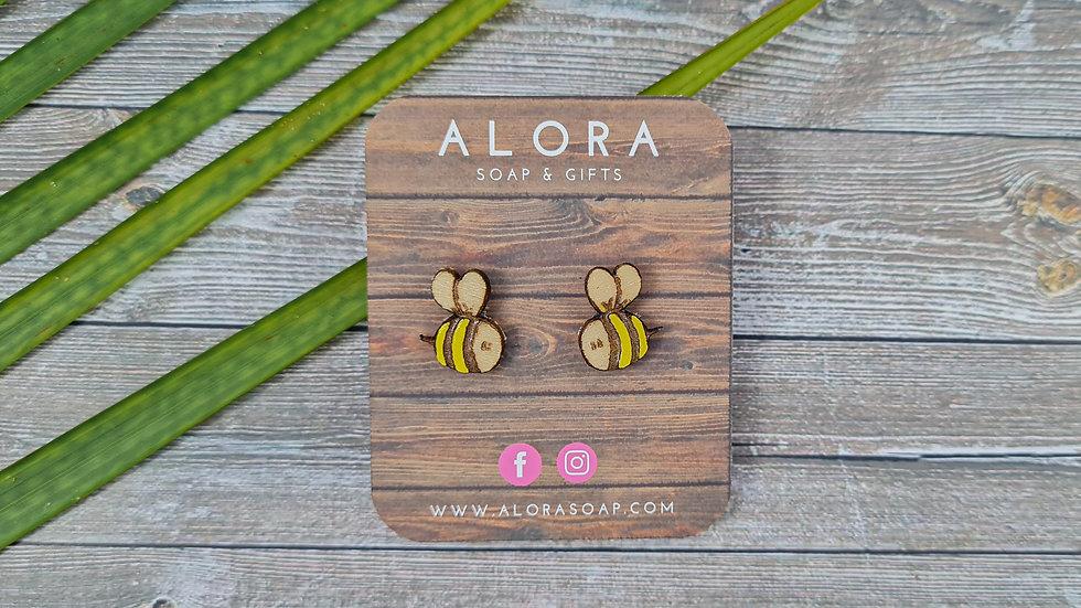 Bee Earrings & Bobby Pins