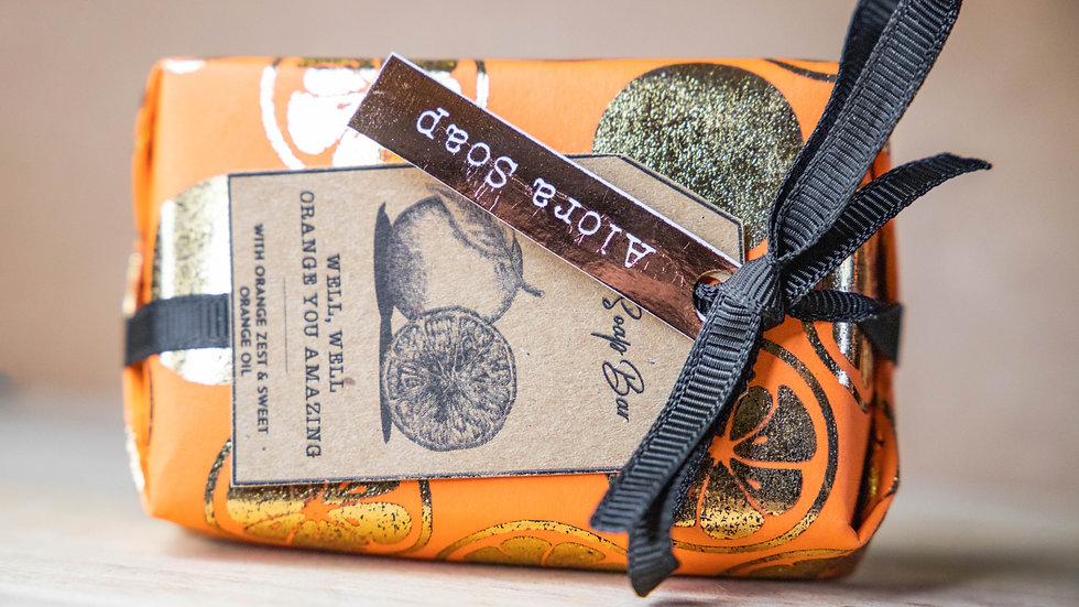 Orange Glycerine Soap bar