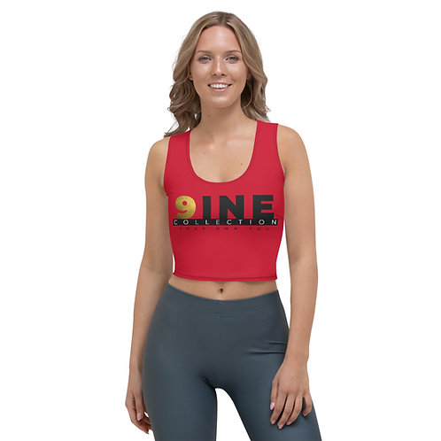 NEW 9INE COLLECTION Crop Tank (Red)