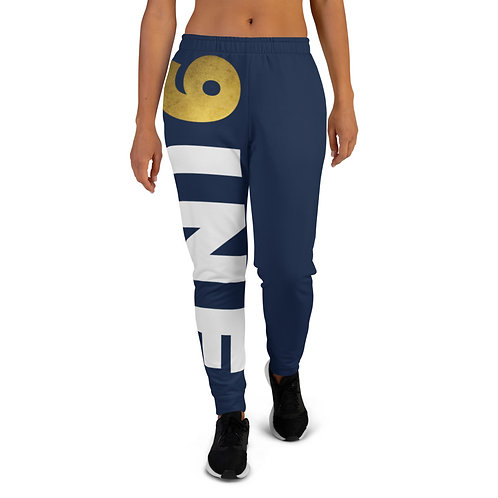 Women's 9INE COLLECTION Joggers (Navy)