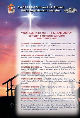 Natale insieme a Sant'Antonio