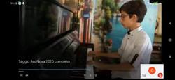 Saggio online 2020