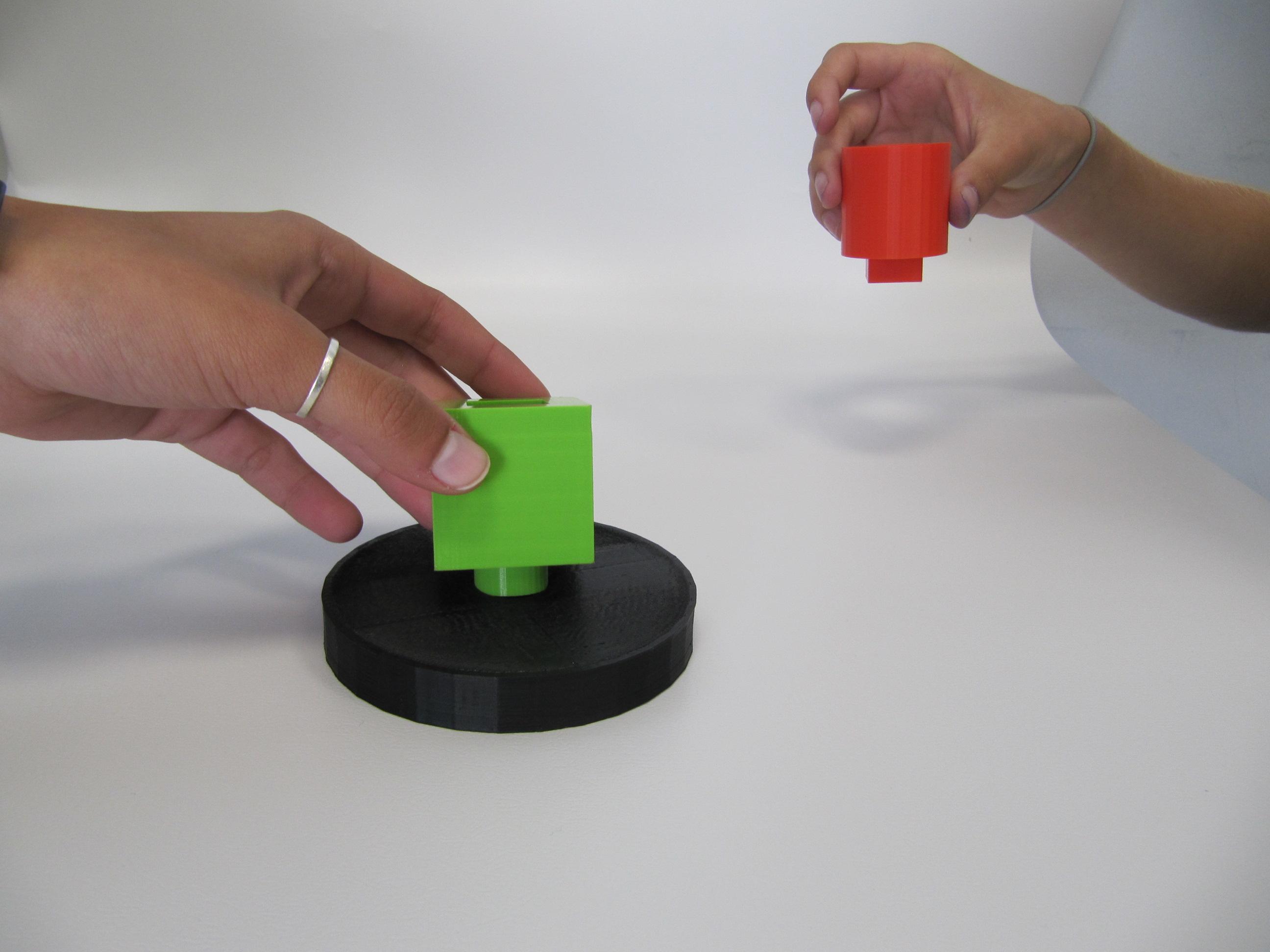 משחק תורות בהדפסה תלת מימדית