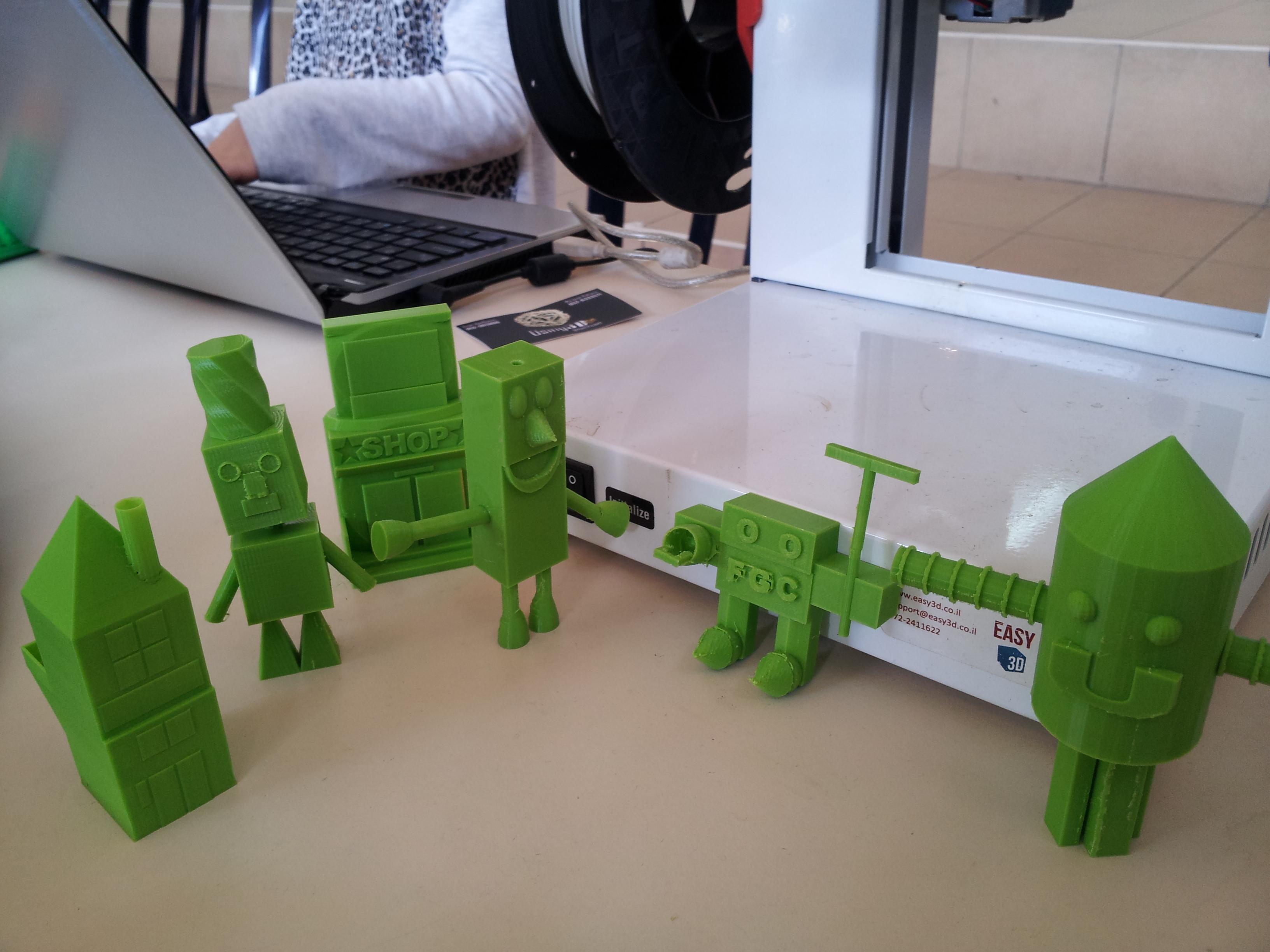 רובוטים בהדפסה תלת מימדית