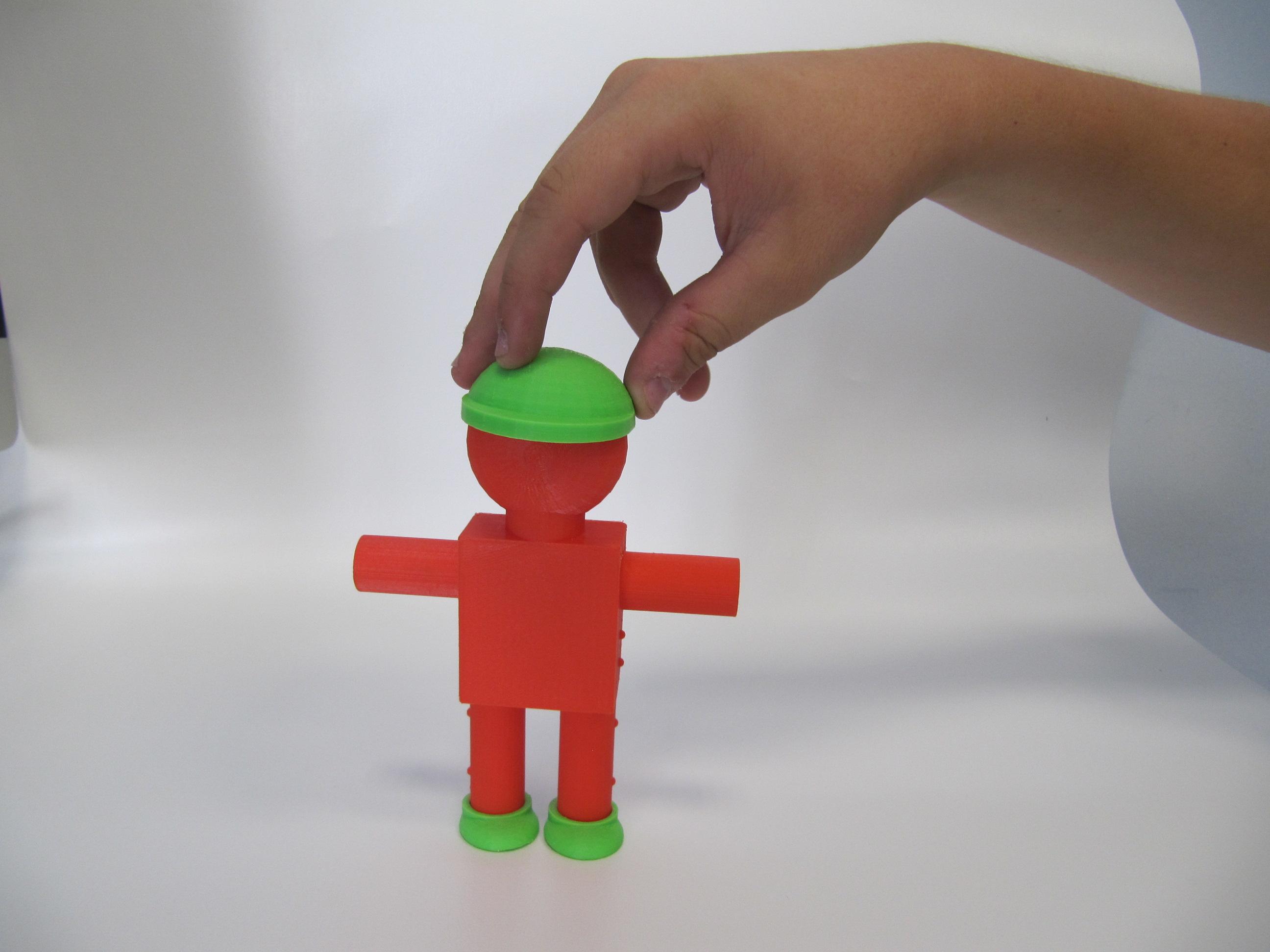 משחק הלבשה בדפסה תלת מימדית