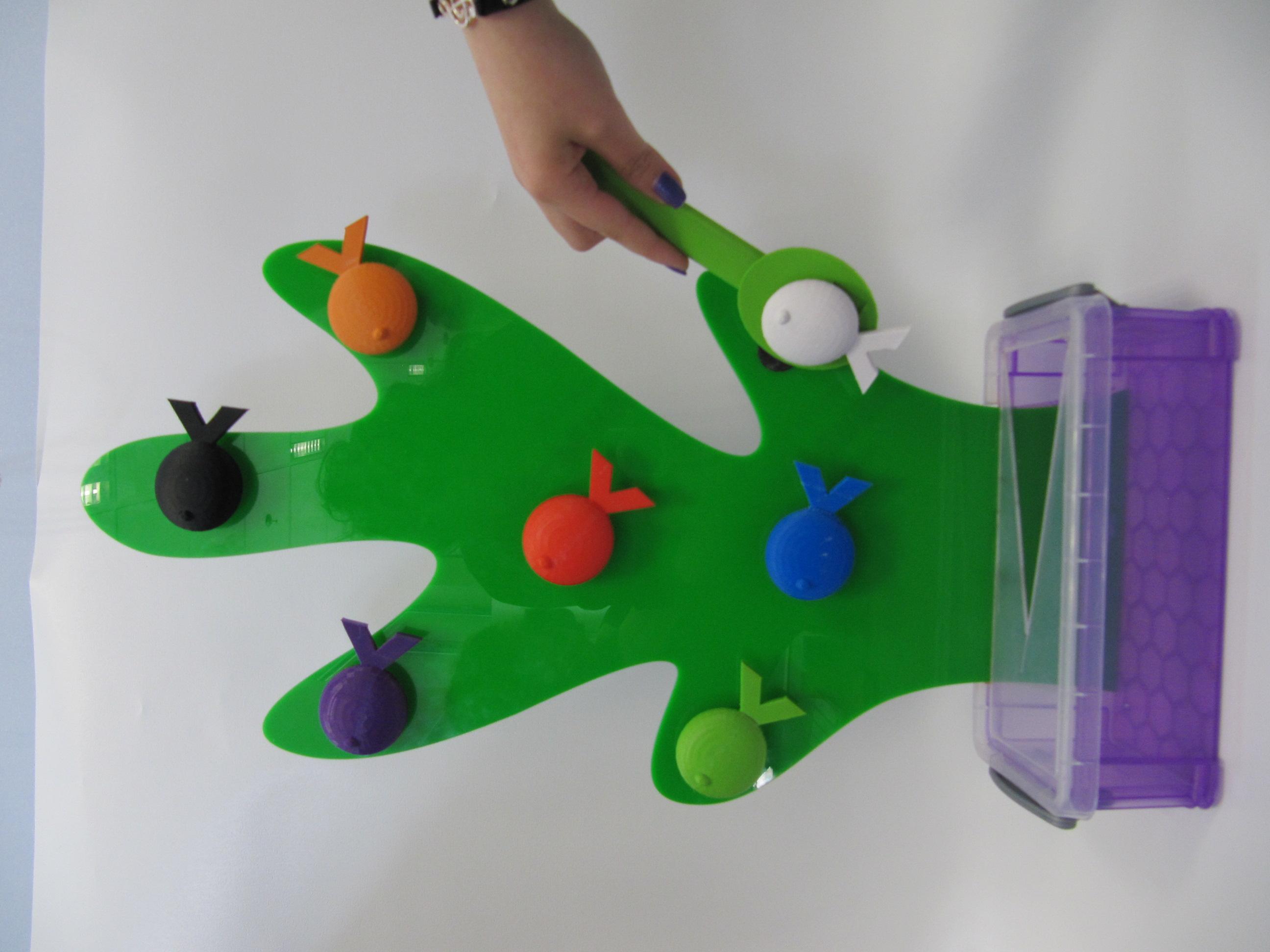 משחק דייג בהדפסה תלת מימדית