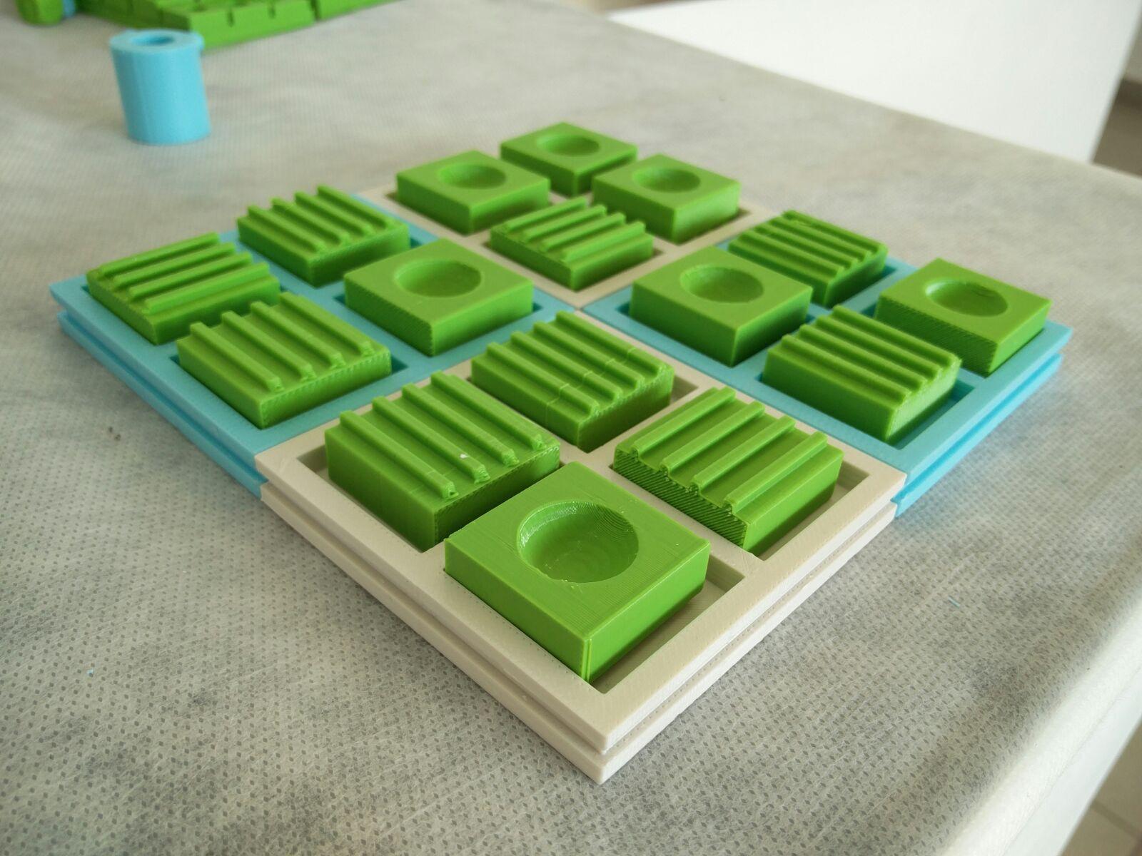 ריברסי לעיוורים בהדפסה תלת מימדית