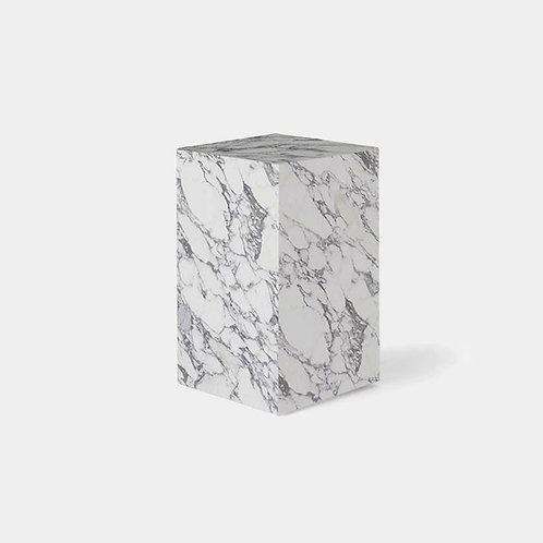 Italy Arabescato Marble Stool