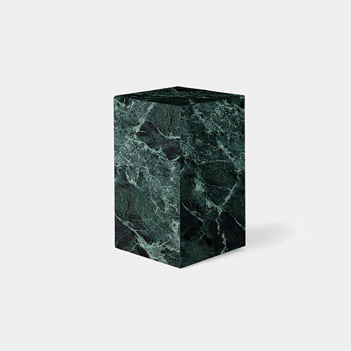Verde Alpi Marble Stool