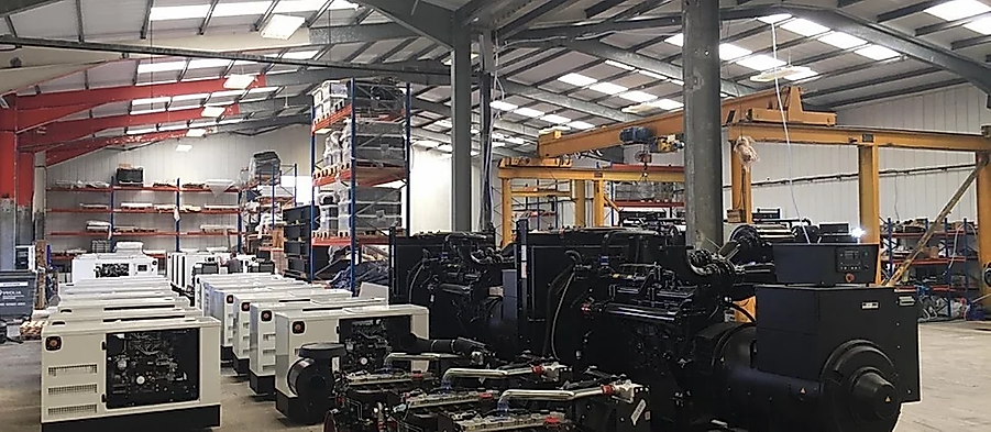 Prime Power Solution factory for Perkins Generator Sets