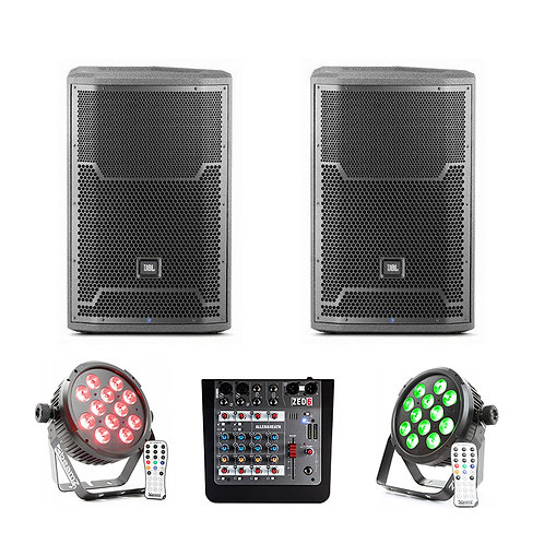 PA System with Basic Lighting