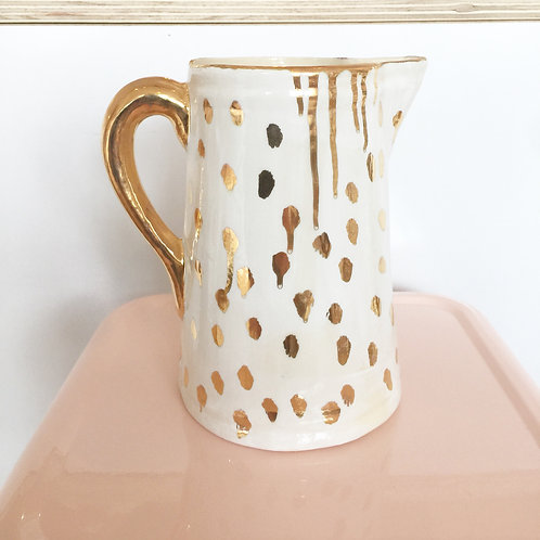 Gold spotted jug