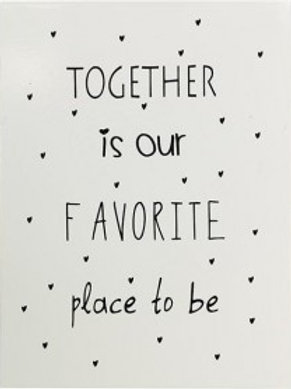 Together is our ..