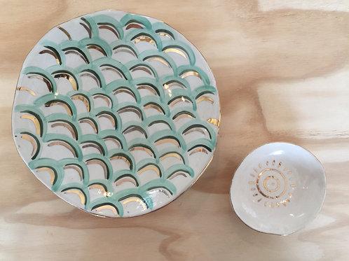 Large serving plates