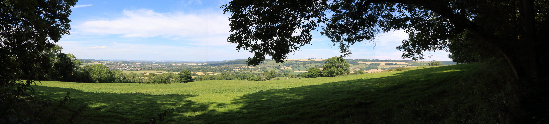 Sudeley Castle valley