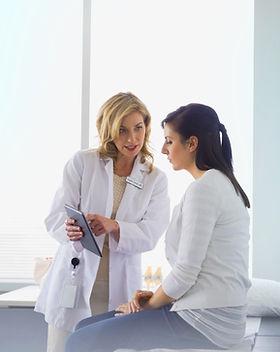 Une femme docteur