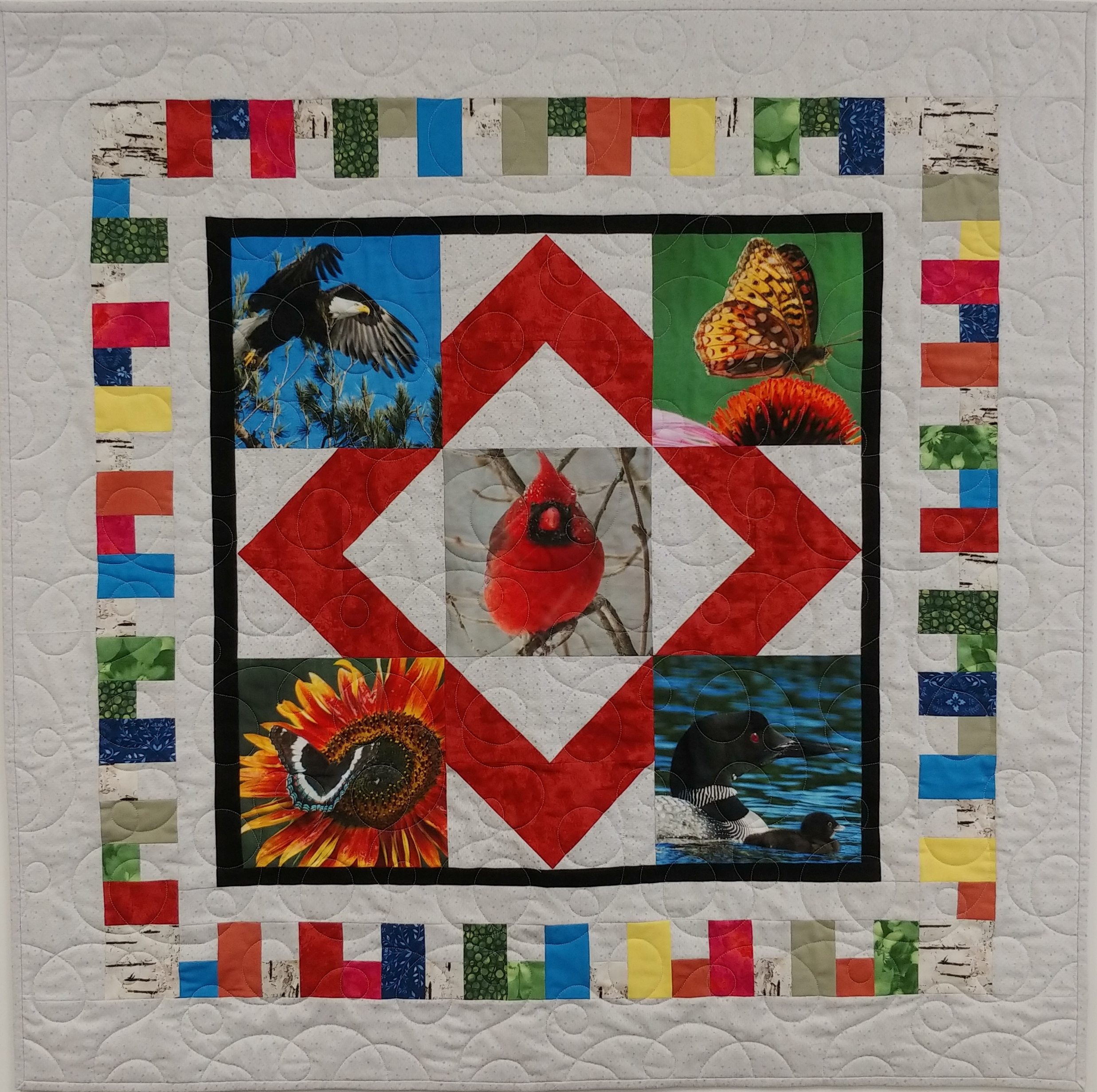 Colors In Flight-Quilting With Color
