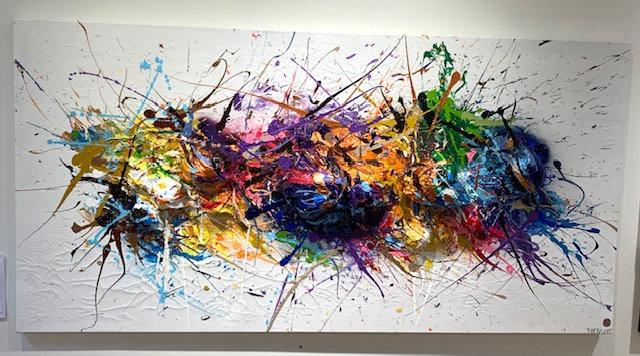 Balloon on Canvas 2.1 By Nitra-Art - 200 x 100 cm