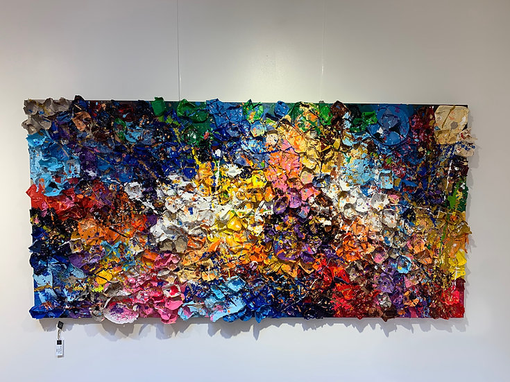 Sold!! Butterflies 3.0 By Nitra-Art - 200 x 100 cm