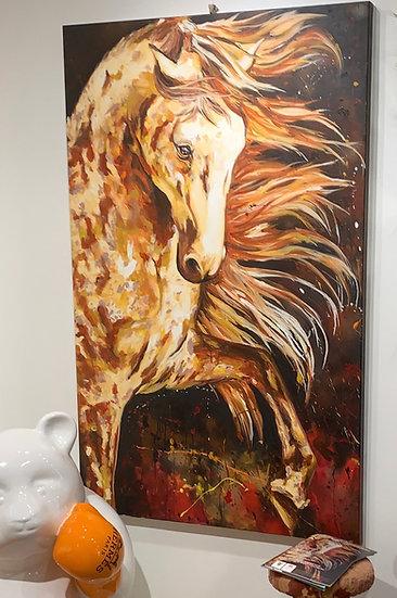 Spanish Horse By Nitra-Art -  100 x 160 cm