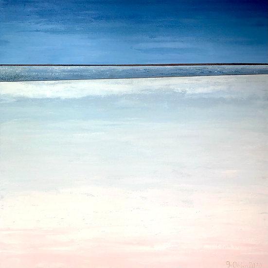 Zen I By Gitta Ohlin - 100 x 100 cm