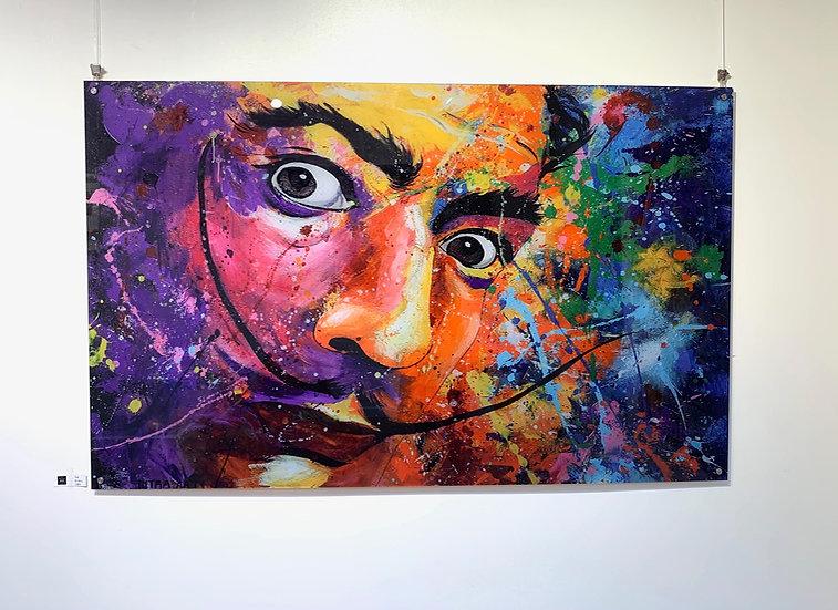 Dali By Nitra-Art - Print on Plexi (/25) - 160 x 100 cm