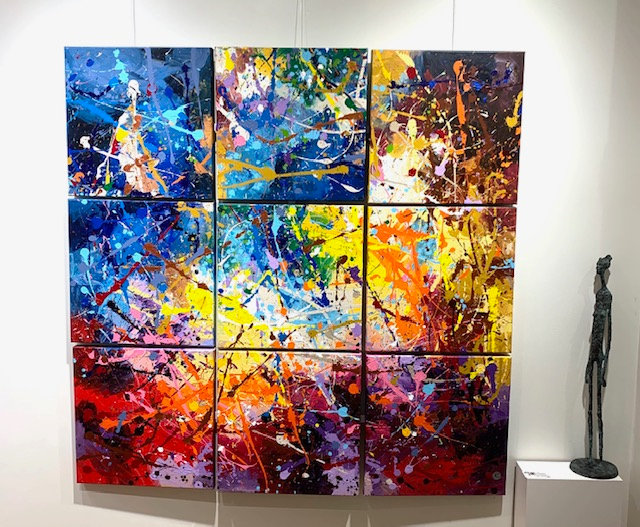 Colour Your Life By Nitra Art - 153 x 153 cm