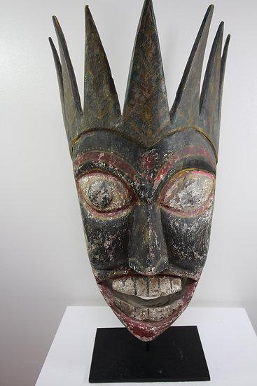 Old Burma Nagaland Tribal Mask, Myanmar