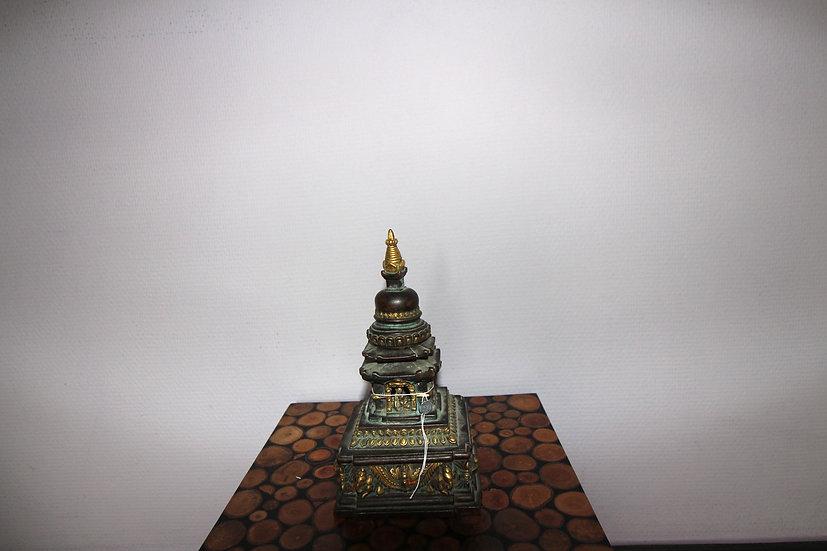 Burmese Bronzen Reliquiary, 18 th Century