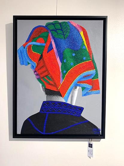 Sold! Pao Tribe By Zin Ko - 65 x 50 cm