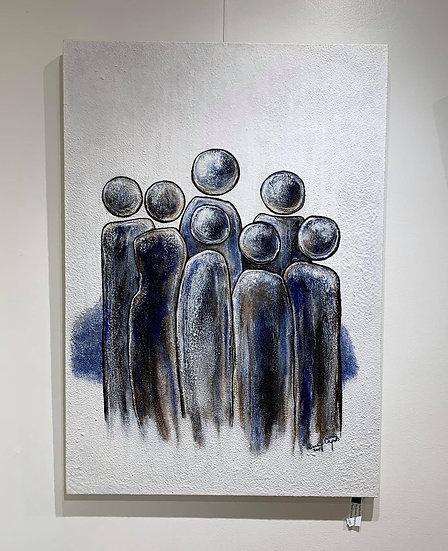 Humbolds By Saskia Verguts - 70 x 100 cm
