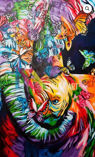 Dreamer Print on Plexi (/25) By Nitra-Art - 100 x 160 cm