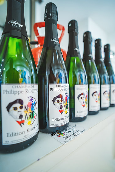 Champagne Philippe Rouyer By Nitra Art - Edition Knokke