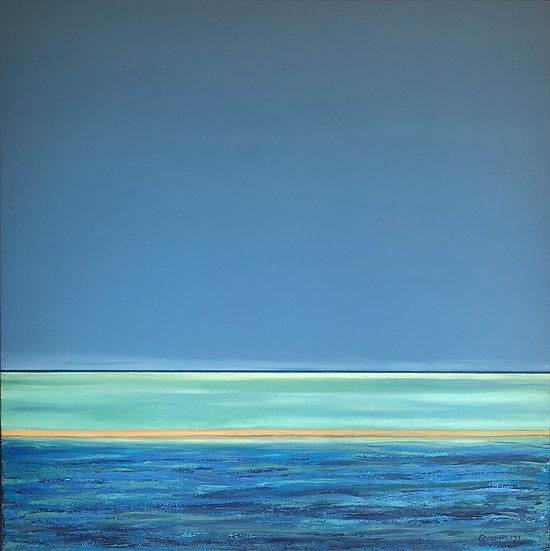 Dreaming By Gitta Ohlin - 100 x 100 cm