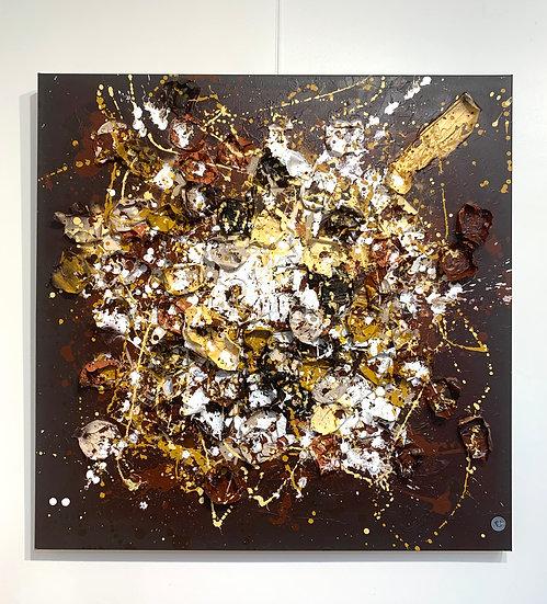 Brave Heart By Nitra-Art - 100 x 100 cm