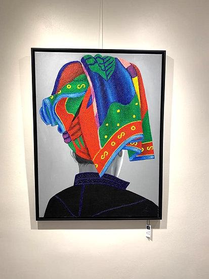 Pao Tribe By Zin Ko BIG - 104 x 79 cm