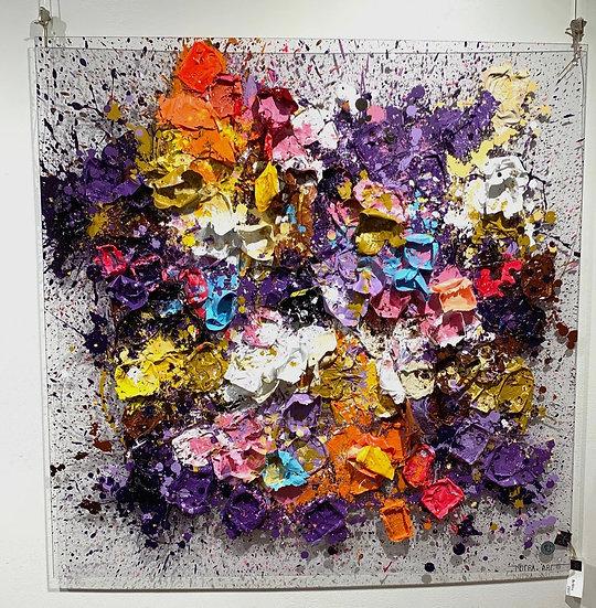 Colour Flash By Nitra-Art - 100 x 100 cm