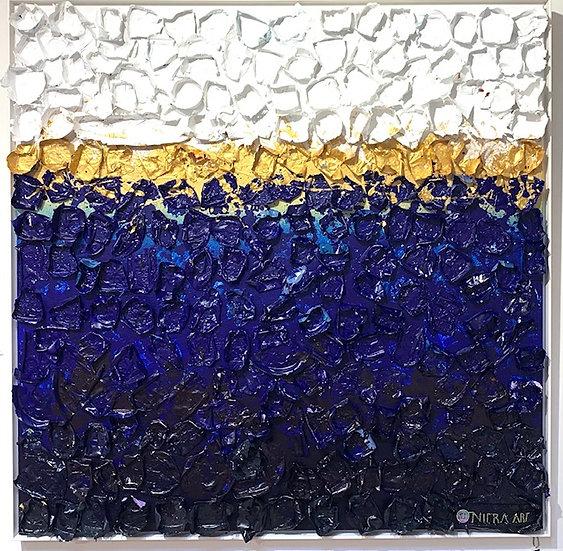 Sold! La Classe By Nitra-Art - 124 x 124 cm